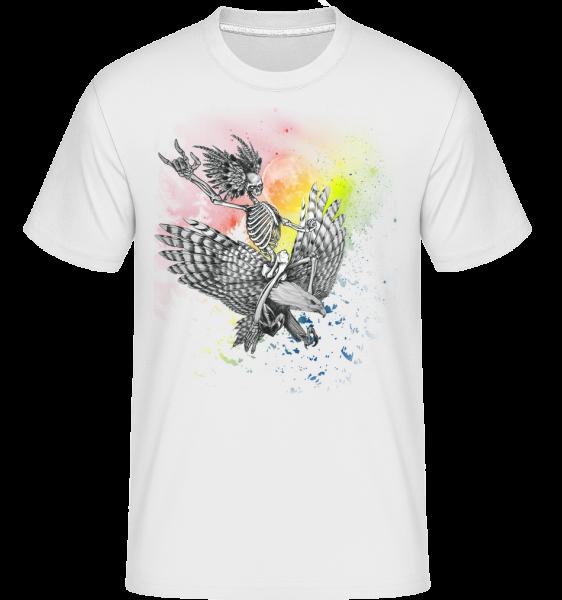 Totenflieger - Shirtinator Männer T-Shirt - Weiß - Vorn