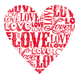 Love Heart Red