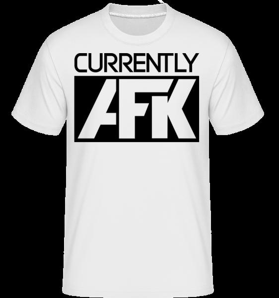 Currently AFK - Shirtinator Männer T-Shirt - Weiß - Vorn