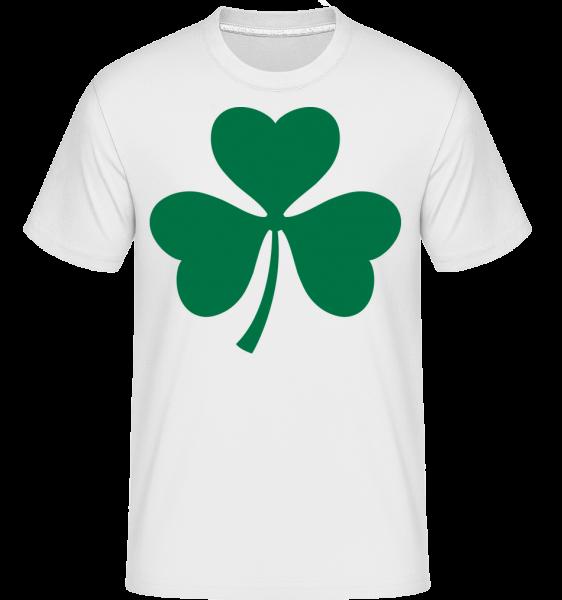 Ireland Cloverleaf - Shirtinator Männer T-Shirt - Weiß - Vorn