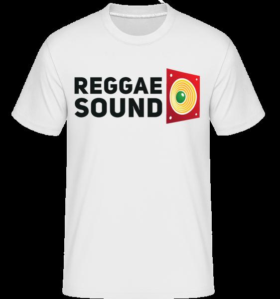 Reggae Sound - Shirtinator Männer T-Shirt - Weiß - Vorn