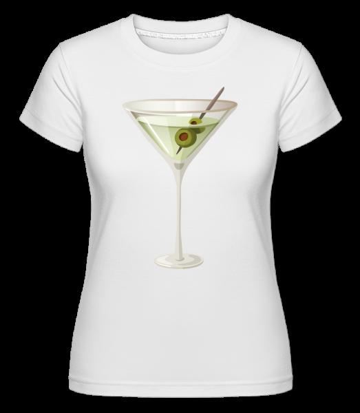 Cocktail - Shirtinator Frauen T-Shirt - Weiß - Vorn
