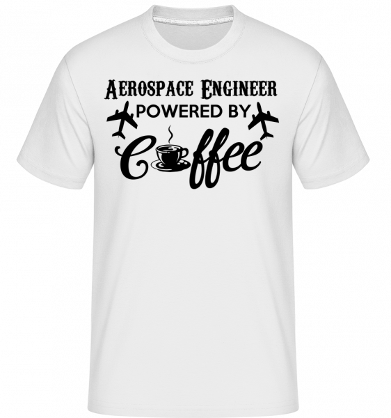 Aerospace Engineer - Shirtinator Männer T-Shirt - Weiß - Vorn