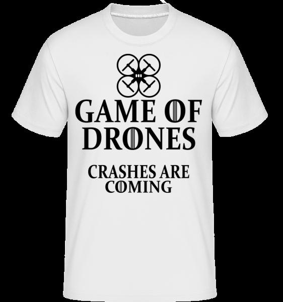 Game Of Drones - Shirtinator Männer T-Shirt - Weiß - Vorn