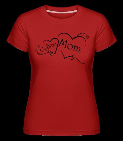 Best Mom - Shirtinator Frauen T-Shirt - Rot - Vorn