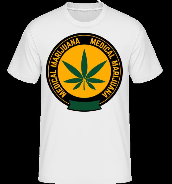 Medical Marijuana - Shirtinator Männer T-Shirt - Weiß - Vorn