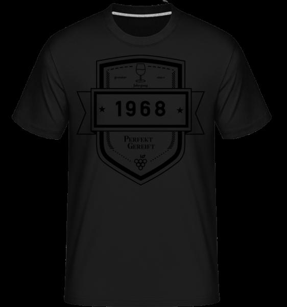 Perfekt Gereift 1968 - Shirtinator Männer T-Shirt - Schwarz - Vorn