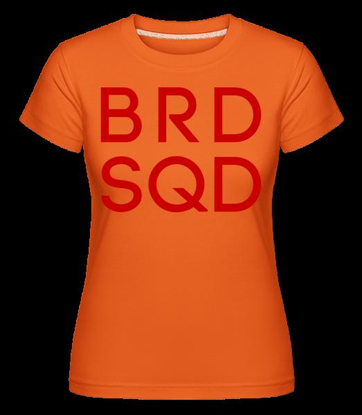 Bride Squad - Shirtinator Frauen T-Shirt - Orange - Vorn
