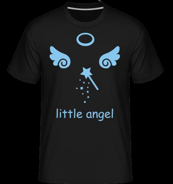 Little Angel Wings - Shirtinator Männer T-Shirt - Schwarz - Vorn