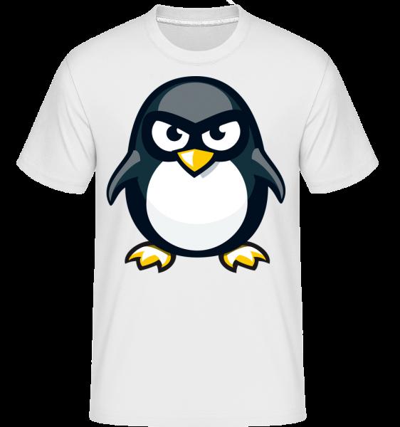 Penguin Kids - Shirtinator Männer T-Shirt - Weiß - Vorn