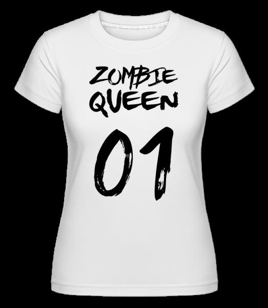 Zombie Queen - Shirtinator Frauen T-Shirt - Weiß - Vorn