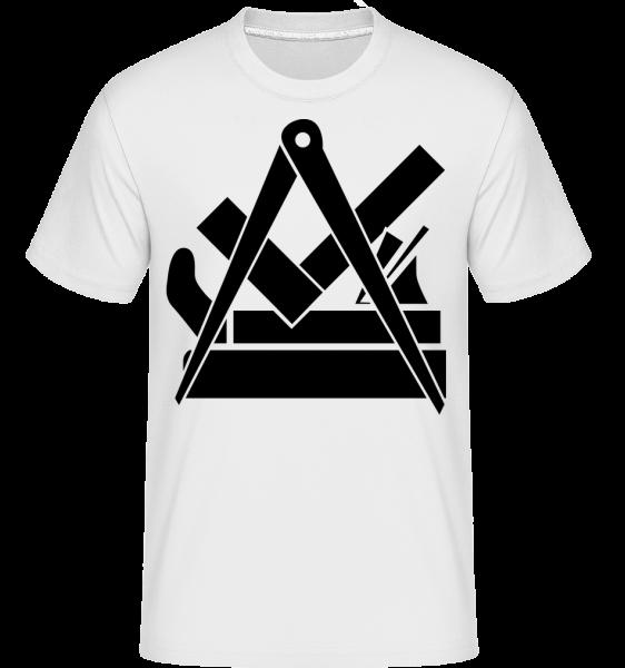 DIY Icon - Shirtinator Männer T-Shirt - Weiß - Vorn