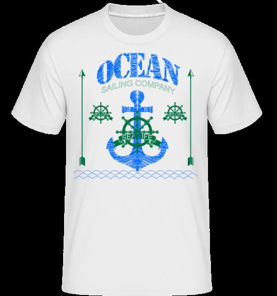 Sailing Company Sign - Shirtinator Männer T-Shirt - Weiß - Vorn