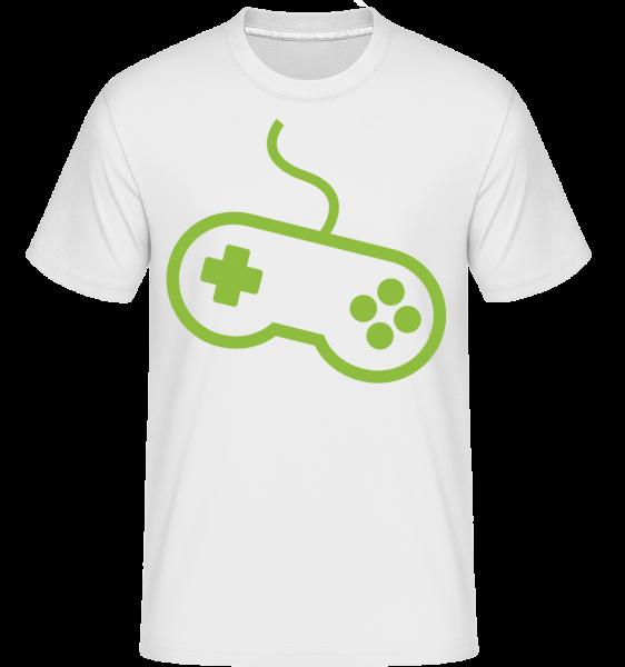 Controller Spielkonsole - Shirtinator Männer T-Shirt - Weiß - Vorn