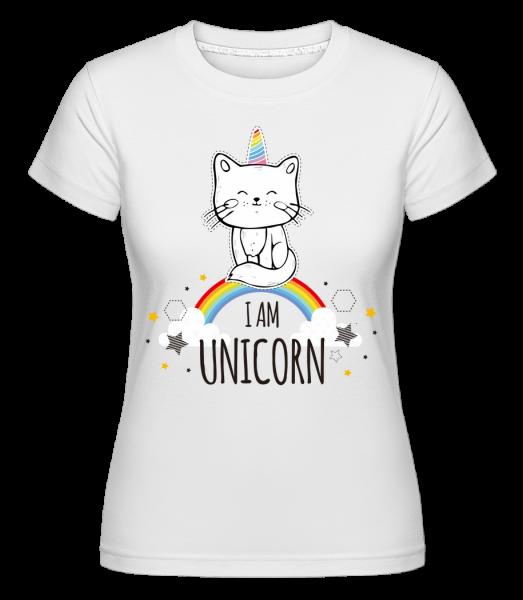 I Am Unicorn - Shirtinator Frauen T-Shirt - Weiß - Vorn