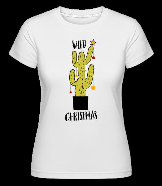 Wild Christmas - Shirtinator Frauen T-Shirt - Weiß - Vorn