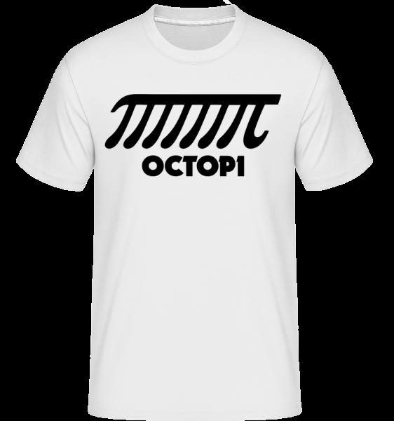 Octopi - Shirtinator Männer T-Shirt - Weiß - Vorn