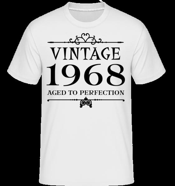 Vintage 1968 Perfection - Shirtinator Männer T-Shirt - Weiß - Vorn