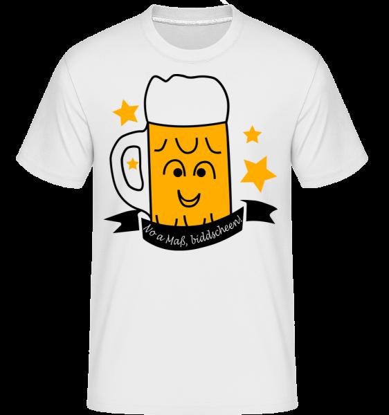 Noch Eine Maß, Bitte! - Shirtinator Männer T-Shirt - Weiß - Vorn