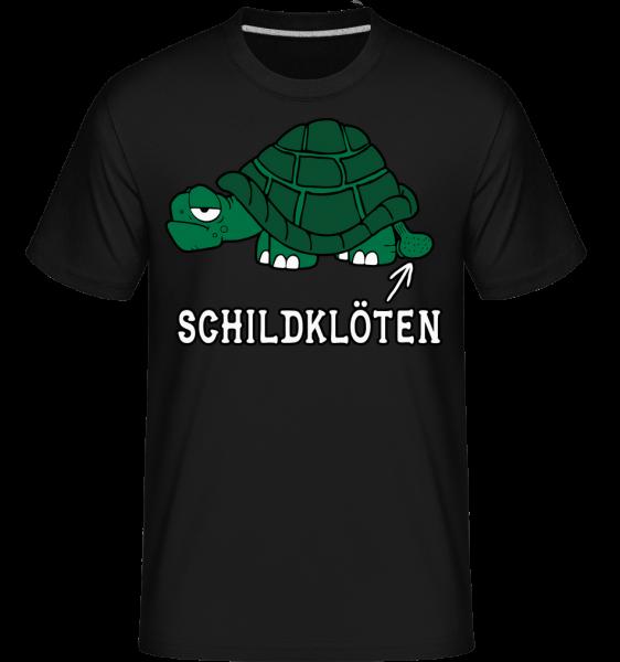 Schildklöten - Shirtinator Männer T-Shirt - Schwarz - Vorn